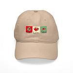 Peace, love, meat Cap