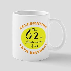 80th Birthday Anniversary Mug