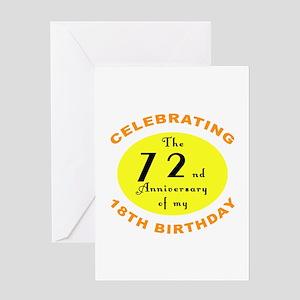90th Birthday Anniversary Greeting Card