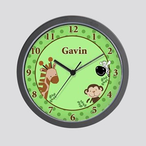 Jungle Adventure Wall Clock - GAVIN