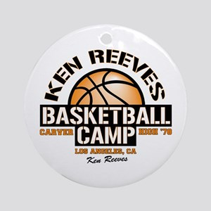 Ken Reeves Camp Ornament (Round)
