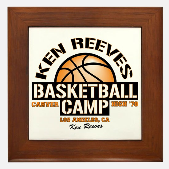 Ken Reeves Camp Framed Tile
