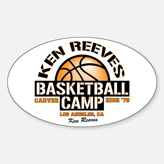Ken Reeves Camp Sticker (Oval)
