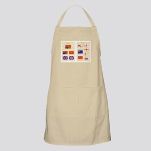 UK Nautical Flags Apron