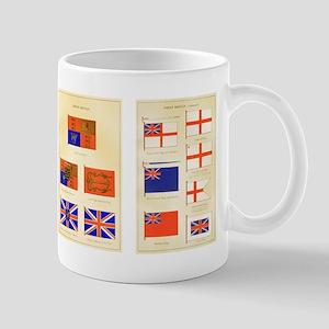 UK Nautical Flags Mug