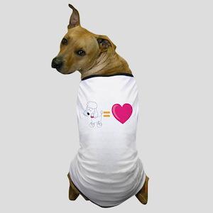 Poodles equal LOVE! Dog T-Shirt