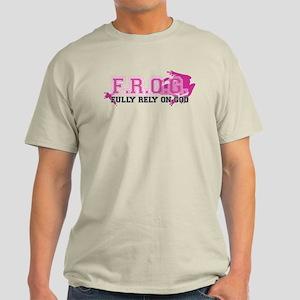 FROG pink Light T-Shirt