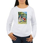 ALICE & THE WHITE KING Women's Long Sleeve T-Shirt