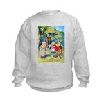 ALICE & THE WHITE KING Kids Sweatshirt