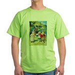 ALICE & THE WHITE KING Green T-Shirt