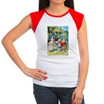 ALICE & THE WHITE KING Women's Cap Sleeve T-Shirt