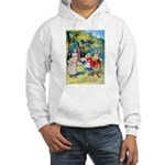 ALICE & THE WHITE KING Hooded Sweatshirt