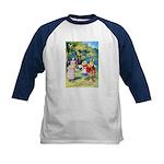 ALICE & THE WHITE KING Kids Baseball Jersey