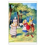 ALICE & THE WHITE KING Large Poster