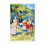 ALICE & THE WHITE KING Mini Poster Print