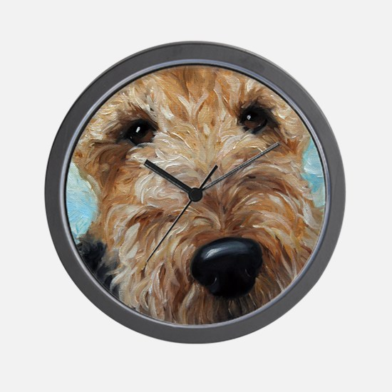 Unique Airedale Wall Clock