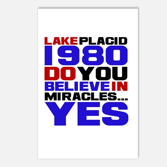 Miracle on Ice 1980 Postcards (Package of 8)