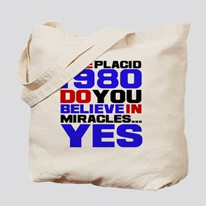 Miracle on Ice 1980 Tote Bag