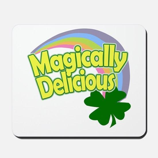 Magically Delicious Pastel Rainbow Mousepad