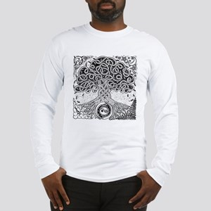 Celtic Tree of Life Ink Long Sleeve T-Shirt