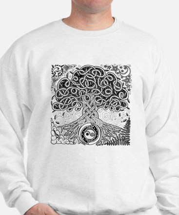 Celtic Tree of Life Ink Sweater