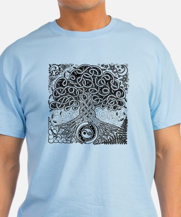 Celtic Tree of Life Ink T-Shirt