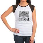Celtic Tree of Life Ink Women's Cap Sleeve T-Shirt