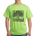 Celtic Tree of Life Ink Green T-Shirt