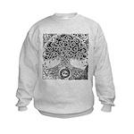 Celtic Tree of Life Ink Kids Sweatshirt