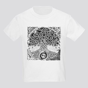 Celtic Tree of Life Ink Kids Light T-Shirt