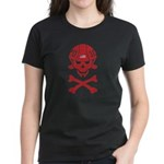Lil' SpeedSkater Skully Women's Dark T-Shirt