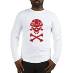 Lil' SpeedSkater Skully Long Sleeve T-Shirt