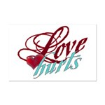 Love Hurts Mini Poster Print