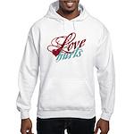 Love Hurts Hooded Sweatshirt