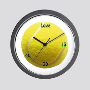 Classic Tennis Wall Clock