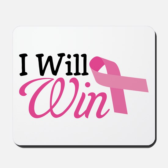 I Will Win Mousepad