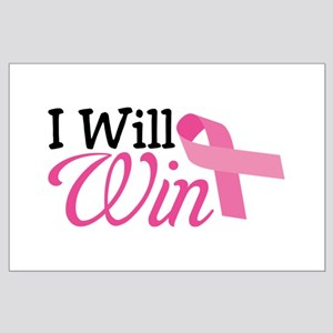 I Will Win Large Poster