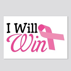 I Will Win Postcards (Package of 8)