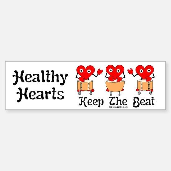 Healthy Hearts Sticker (Bumper)