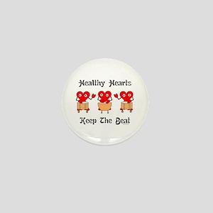 Healthy Hearts Mini Button