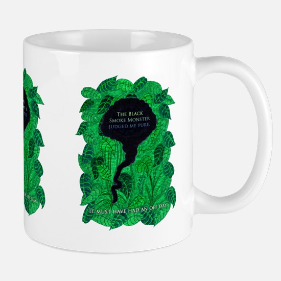 LOST Black Smoke Monster Pure Mug