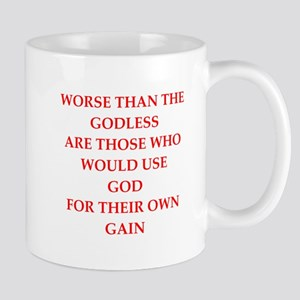 god Mugs