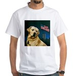 Salute to Sirius White T-Shirt