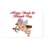 Steak & Blowjob Day Postcards (Package of 8)