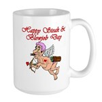 Steak & Blowjob Day Large Mug