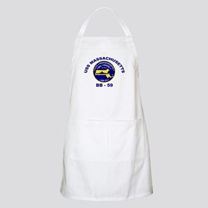 USS Massachusetts BB 59 BBQ Apron