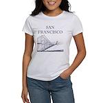 San Francisco Women's Classic White T-Shirt