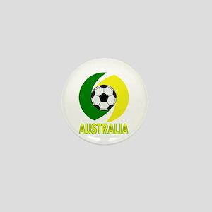 Australia soccer design 2014 Mini Button