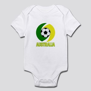 Australia soccer design 2014 Infant Bodysuit