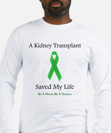 Kidney Transplant Survivor Long Sleeve T-Shirt